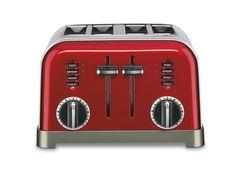 Amazon.co.jp: Cuisinart クイジナート トースター赤 CPT-180R 4-Slice Toaster Red 並行輸入品: ホーム&キッチン