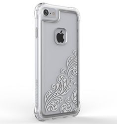 Ballistic - Jewel Silver Whispers Case for iPhone 6/6s/7