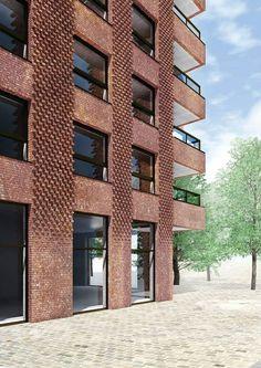 Tony Fretton Architects . towers 5 & 6 . Westkaai (1)