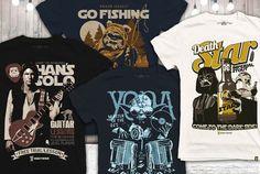 Star wars rock band shirts