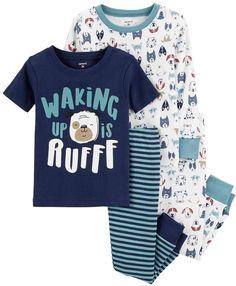 8d1659257 Carter s Size 12M 4-Piece Construction Snug-Fit Cotton Pajama Set In ...