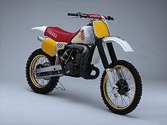 Yamaha Motocross, Enduro Motorcycle, Mx Bikes, Cool Bikes, Santa Cruz Bicycles, Build A Bike, Yamaha Motor, Vintage Motocross, Bike Rider