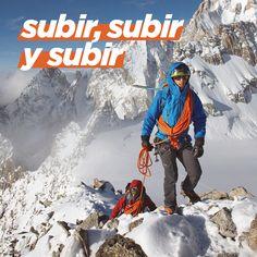 Si crees que ya has llegado a la cima, es que aún te queda mucho por subir. #Decathlon #Simond #Alpinismo #Deporte