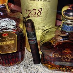 The Gurkha Cellar Reserve 15 Maduro with the finest Cognac or Whiskey.