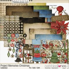 Project Memories - Christmas by Pebbles Jones - Thanksgiving Weekend 2017 Special