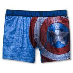 Marvel Men's Boxer Briefs Navy Cationic : Target