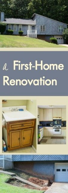 First-time home renovators show the ugly before pictures before renovating this 1979 foreclosed home | homeologymodernvintage.com