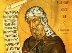 """John of Damascus AD) writes: """"Of old, God the incorporeal and uncircumscribed was never depicted. Now, however, when God is seen clothed in fle. Son Of God, Faith In God, Christian Faith, Blog, Orthodox Christianity, Worship, Portal, Youtube, Watch"""