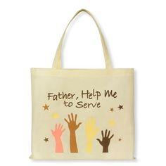 Tote Bag Help Me To Serve