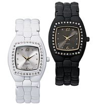 Bangle Cuff Watch with Stone Accent: Sale on Select Watches now 2 for $30 - Save up to $29.98!