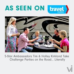 As Seen on Travel Channel: 5-Star Ambassadors Tim & Holley Kirkland Take Challenge Parties on the Road… Literally - ViSalus BlogViSalus Blog