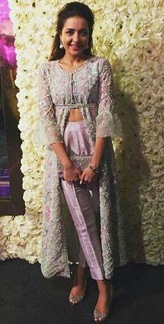 Pakistani outfit by Farah Talib Aziz.