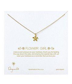 Dogeared Flower Girl Necklace #Dillards
