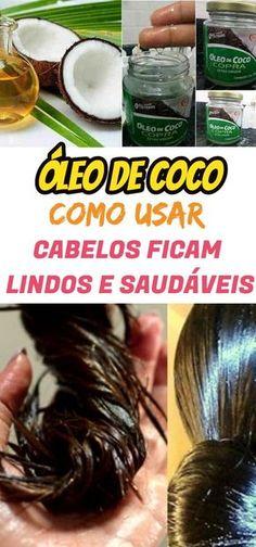 Como Usar Óleo de Coco no Cabelo do jeito certo: 7 Formas Diferentes. #cabelo #hidratação #alisamento #beleza #óleodecoco #oleo #coco #alisar #alisar #hidratar #caseiro