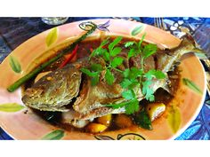 Snapper at Mama's Fish House. Photo from Wine Travel Food with Phil Roberts