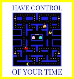 Be in control of your life. #1980s #pacman #business #opportunity #work #jobs