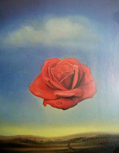 Dalí - Meditative Rose