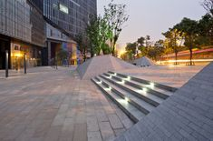 Fantasia Mixed-use Landscape in Chengdu (China). By PLA\GROUP.