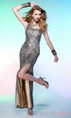 Scala One Shoulder Sequin Dress