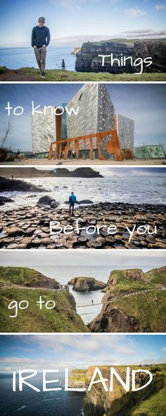Here is the ultimate list of things to know when you travel to Ireland. You'll bound to have a fantastic vacation taking part in all the things there are to do, landscapes to see, honeymoons to take, and food to eat. We even talk a bit about cities like Dublin, Galway, Cork, and Northern Ireland!