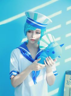 The mint cookies (cookierun) cosplayed by SEUNGHYO (SYO)