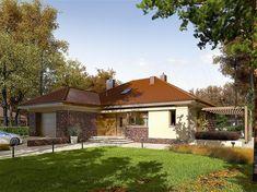 Zdjęcie projektu Astrid (mała) G1 energo WRC2589 Story House, My House, Square Meter, Design Case, Malaga, House Plans, Pergola, Outdoor Structures, House Design