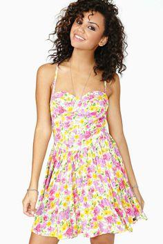 Floral Daze Skater Dress