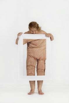 This photo series magnifies body parts to shift self-perception.