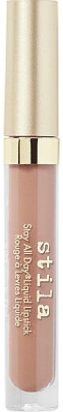 stila liquid lipstick in 'caramello' 🌸