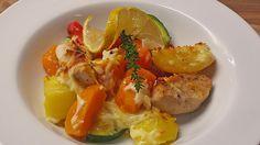Eichkatzerls herbstlicher Kartoffel-Kürbis-Auflauf, ein schmackhaftes Rezept aus der Kategorie Gemüse. Bewertungen: 76. Durchschnitt: Ø 4,3.