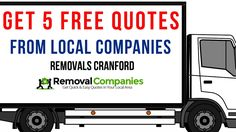 Removals Cranford - Get Your Free Quote Today