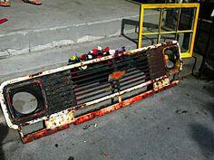 Old Chevy truck grille (The Orange Dandelion on facebook)