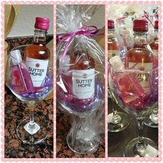 DIY bachelorette party favors