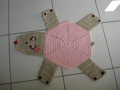 """Crochê com fio de malha - Patricia Artuzo ~ """"Crochê da Mimi"""""""