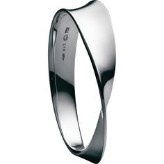 MÖBIUS Sterling Silver Bangle by georgjensen