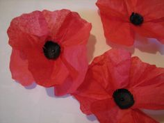 Here is a last minute craft we put together before our cemetery visit this afternoon. Today is Veteran's Day as well as the Feast of St. Martin of Tours – fitting since he was a soldier… Fun Crafts, Crafts For Kids, Paper Crafts, Poppy Craft For Kids, Poppy Wreath, Spiritus, Remembrance Day, Veterans Day, Tissue Paper