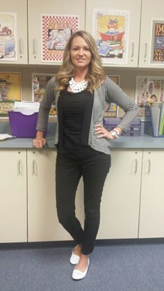 Black and White Teacher Clothing Blog