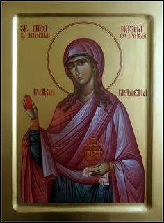 sw. Maria Magdalena równa apostołom Byzantin Icons