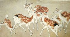 Deer Vintage Print Japanese Magazine Cut Out by VintageFromJapan, $12.00