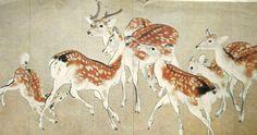 Deer Vintage Print Japanese Magazine Cut Out by VintageFromJapan, $12.00