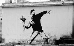 Banksy Art Wallpaper | ... banksy wallpaper and explains somegallery banksy graffiti banksy