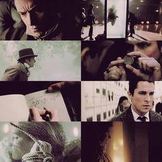 The Prestige. Hugh Jackman, Christian Bale. Scary, confusing, good.