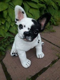 "French bulldog 14 "" puppy dog realistic"