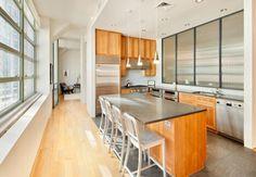 bethenny-frankel-nyc-condo Kitchen