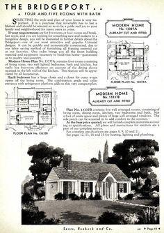 The Wexford was also known as The Bridgeport (1936 Sears catalog)   1936 wexvorf
