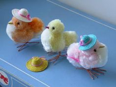 chenille chicks