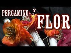 DIY PERGAMINO Y FLOR PARA UN REGALO ESPECIAL - PARCHMENTT AND FLOWER FOR...