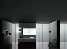 Boffi bathroom - dark grey