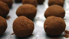 Bittersweet Chocolate Truffles Maison