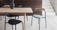 CH88 chair and CH327 table by Hans J. Wegner from Carl Hansen & Søn   Inspiration - Carl Hansen & Søn
